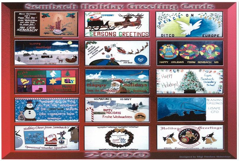 Sembach Holiday Greeting Cards