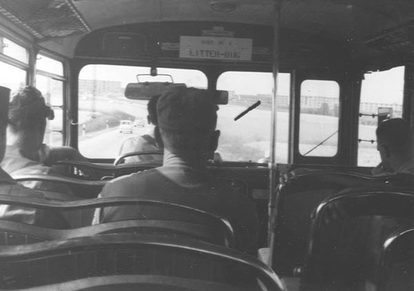 Bus Transportation, Sembach AB, Circa 1962