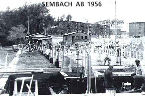 Sembach commissary construction