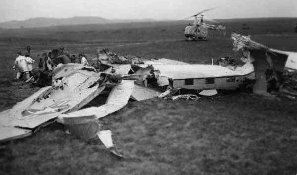 C-47 crash site, Flightline, Sembach Air Base, Circa 1967