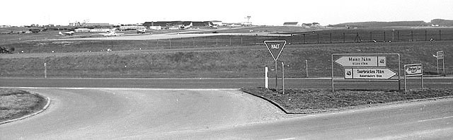 A 1968 view of the flightline courtesy of Joe Gavin