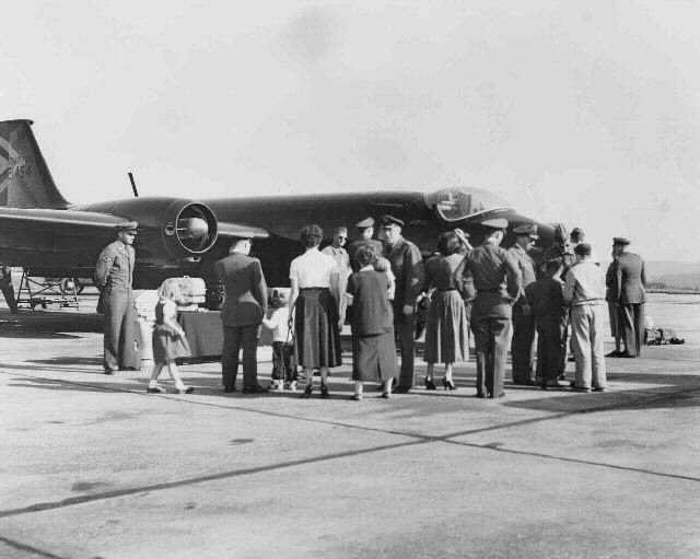B-57 Blackbirds at Sembach, Sembach AB Germany