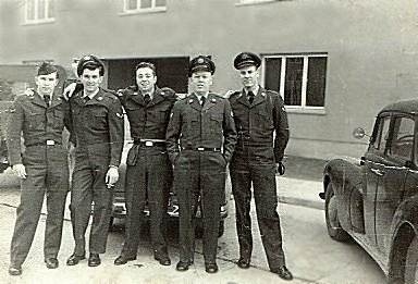 303rd Tac Recon Squadron members,  Sembach AB, Germany, Circa 1954