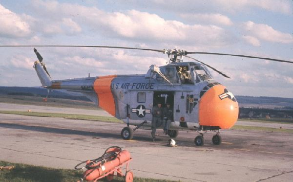 H-19 helicopter used for missile site support