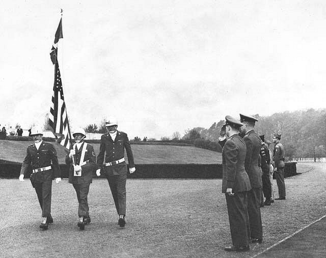 Sembach honor guard, Veterans day 1965