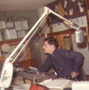 Sembach Law Enforcement Desk, Sembach Air Base, Circa 1968
