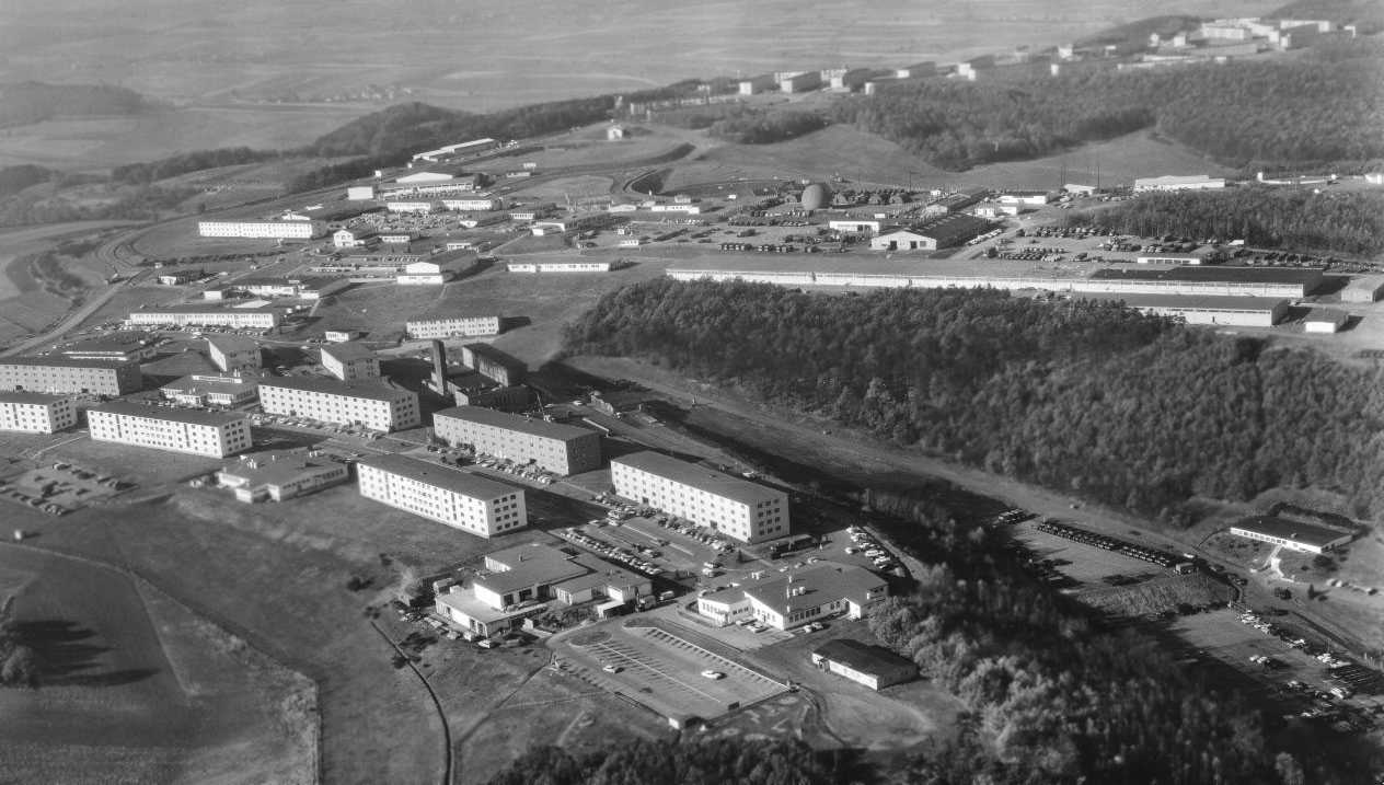 Sembach Central Base, Circa 1965.  Photo by Dennis Newell