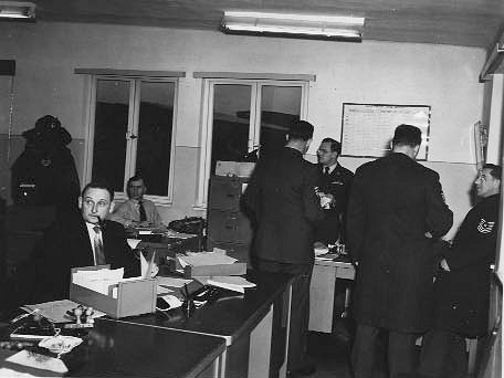 Sembach Pass & ID Office, February 1956. Courtesy of John Buchalski.